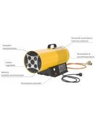 Generatore di aria calda a gas 17kW MASTER mod. BLP 17 M
