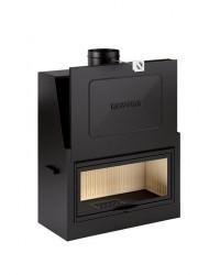 Monoblocco a legna con anta saliscendi Piazzetta mod. MA 263 SL