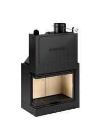 Monoblocco a legna con anta saliscendi Piazzetta mod. MA 280 D/S SL