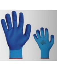 Guanti in poliuretano GAMMA PENNELLI mod. GLASER Blu