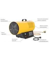 Generatore di aria calda a gas 53kW MASTER mod. BLP 53 M