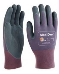 Guanti da lavoro ATG mod. MAXYDRY GP TG.10 viola/nero 56-425