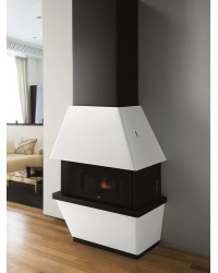 Caminetto a pellet EVA CALOR mod. DONATELLO 11 KW