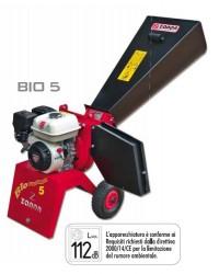 Biotrituratore a scoppio ZANON mod. BIO 5 con motore Honda GP160