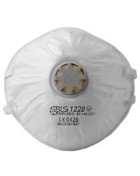 Mascherina per polveri c/valvola BLS mod. BLS122BW  FFP1