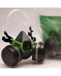 Semimaschera BLS TP2400 c/filtri A1B1E1K1P3