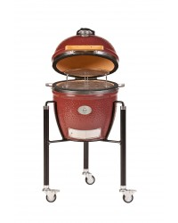 Barbecue MONOLITH KAMADO mod. JUNIOR a carbone con carrello