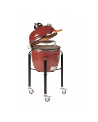 Barbecue MONOLITH KAMADO mod. JUNIOR a carbone con carrello