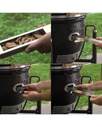 Barbecue MONOLITH KAMADO mod. CLASSIC PRO-SERIE 1.0 a carbone