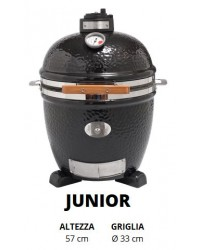 Barbecue MONOLITH KAMADO mod. JUNIOR a carbone