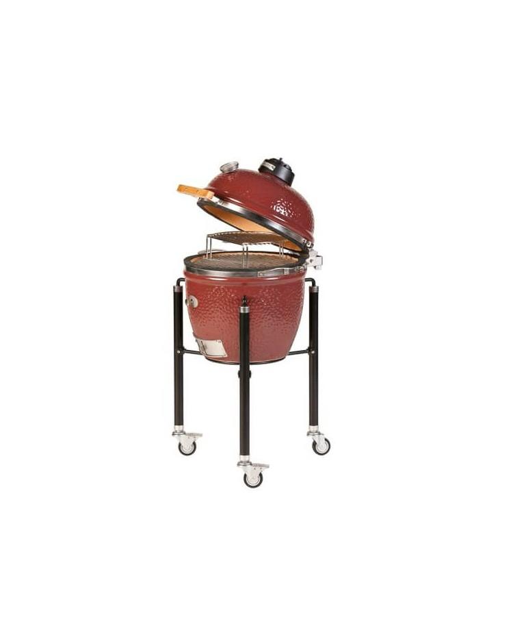 Barbecue MONOLITH KAMADO mod. CLASSIC PRO-SERIE 1.0 a carbone con carrello