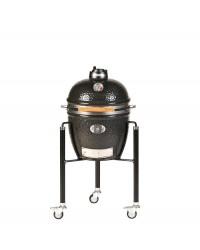 Barbecue MONOLITH KAMADO mod. LeCHEF PRO-SERIE 1.0 a carbone con carrello