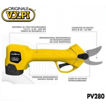 Forbice a batteria VOLPI mod. PV280