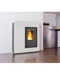 Stufa Thermo a pellet Piazzetta mod. P985 Thermo